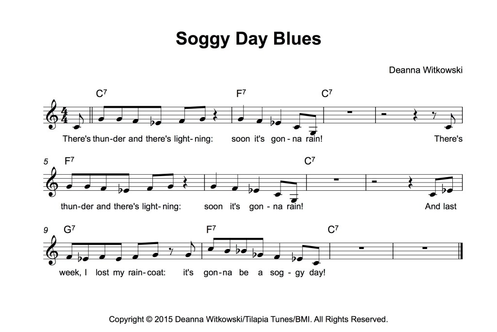 Piano easy piano blues sheet music : Stepping Off The Page: 12-Bar Blues – Piano Addict