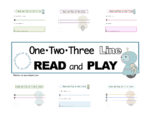 Not Exactly Pre-Reading: 1-2-3 Line Read & Play