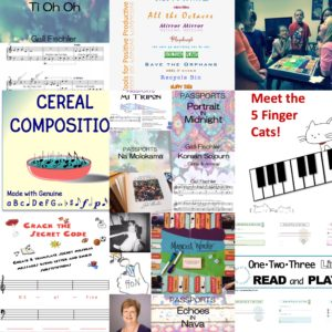 20% Off 8/1-2!  My Activities & Music on Teachers Pay Teachers