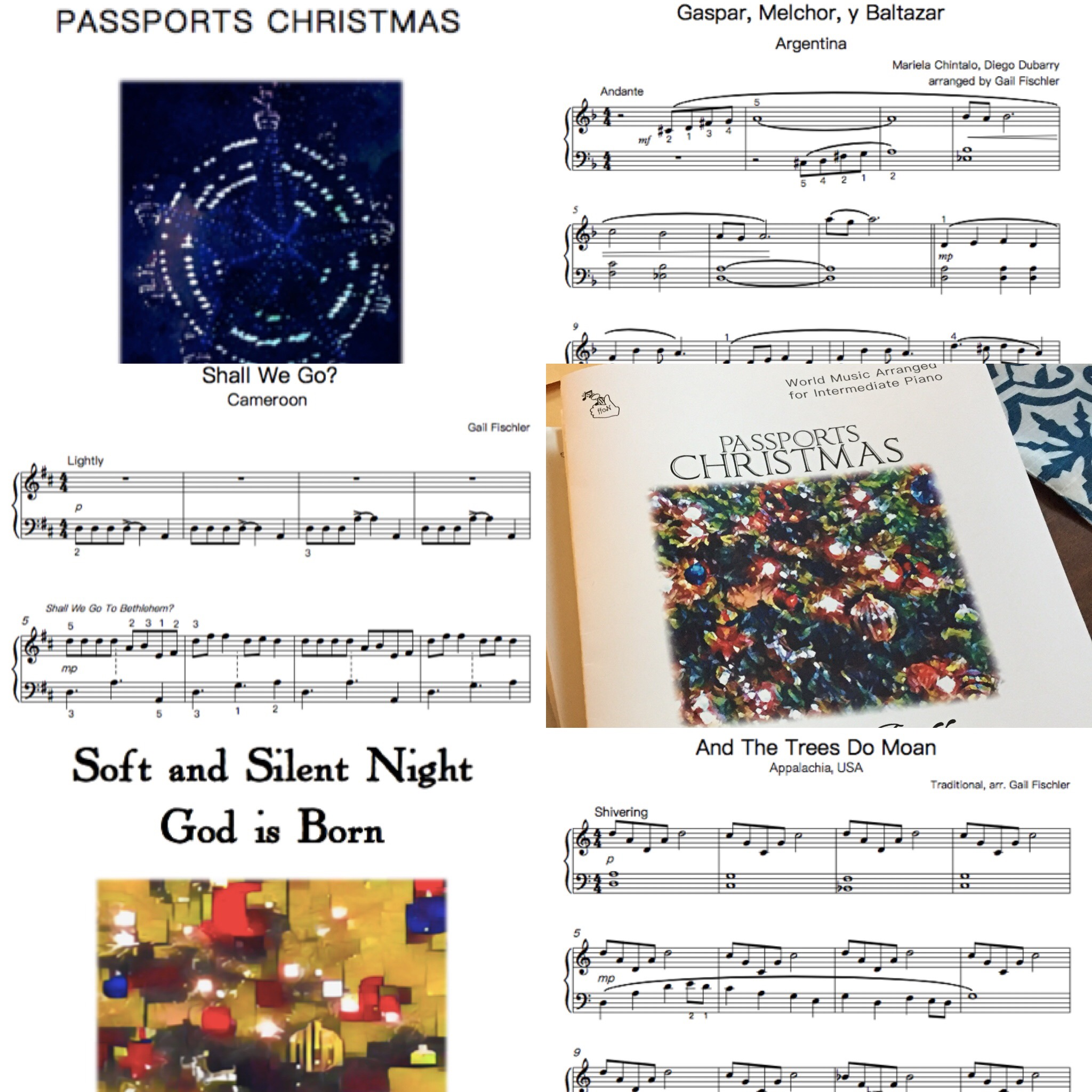 My World Christmas Arrangements: New this season: Carols from Portugal, Cameroon, Argentina, & India